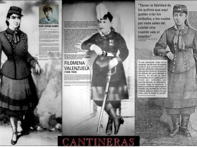 Tríptico Bicentenarias e Independencias. Mujeres en la Memoria e Historia de Chile.